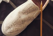 My Custom Bucketfeet Shoes / How I created my shoe design on Bucketfeet Shoes ;) / by Art Love Passion