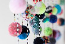 Pompoms & Tassels / The most fun and colourful ways to use these whimsical balls of yarn