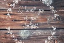 Bible verses / Pretty inspirational bible verses that I love