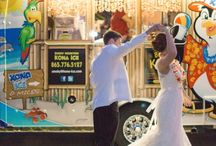Wedding Food Truck and Other Unique Food Ideas / These days, catering goes beyond traditional. Here are some ways to have outside food brought into the reception without (necessarily) having full service catering.