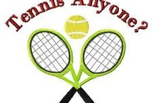Tennis / My Favorite sport to play. Don't get enough matches but I love swinging my raquet. :)