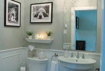 bath decor / by Missy Binder