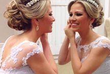 Coroa para cabelo - Casamento