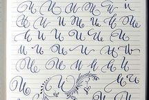 Kaligrafická abeceda