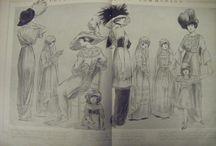 Fashion History, La Histoire de la Mode / Femina 1912