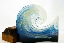 Glas - Waves / Glass waves and inspirations
