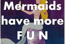 I'm really a mermaid!