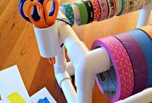 Masking tape / Knutselen met masking tape (washi tape) / by Knutselen