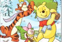 Cartes Disney Noël / Cartes Disney Noël avec Mickey, Minnie, Cars, Winnie, Tigrou, Raiponce, Blanche Neiges et biens d'autres http://lacarteriedeflavie.com/cartes-Noel-Disney
