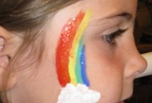 Face painting kiddies