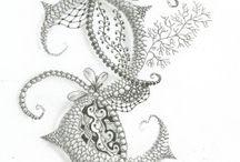Zentangle, Zendoodle Techniques