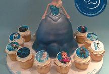 Frozen / Disney Frozen themed cakes