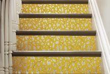 Staircases / Ideoita portaikkoihin ja portaanalusen hyötykäyttöön. ...arvaattekin varmaan, että jotain tähän liittyvää muhii mietintämyssyssä oman kodin portaikon varalle... :)