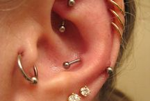 Piercings + tattoos