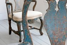 Lovely furnitures / Painted furnitures