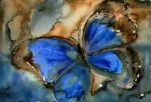 Flutterbies ~ flowers that fly and all but sing / What winged beauties! More of God's artistry. / by Candy Thompson