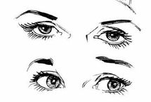 tegne øye / nese / munn