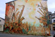 STREET ART OUR WORLD IS A CANVAS / I love the street art of the world.