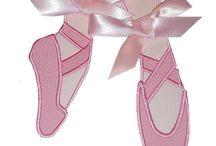 sapatilhas de bale para bordar