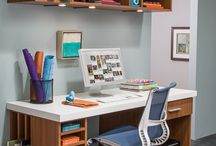 Craft room and hobby areas / Storage and organization ideas for your craft room or hobby area