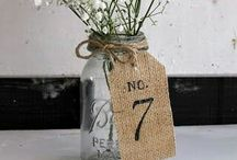 Table Name/Number Ideas