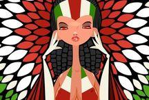 Character Illustrations / by Carmen Navarrete