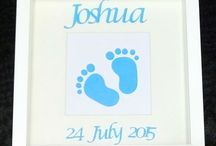 Baby and Children's Gifts / Here you will find a range of handmade personalised items for baby and children, great to give as gifts to new parents or decorate your little one's bedrooms.