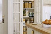 kitchen grocery cupboard
