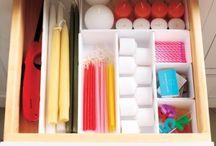 Organization & Storage / Making home a nice place.