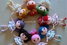 crochet dollies