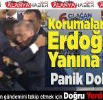 Korumaları Atlatıp Erdoğan'ın Yanına Ulaştı