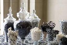Black & White Candy Buffet Ifeas