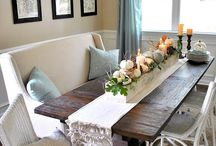 Barn wood table / by Jackie O'Keefe