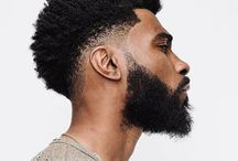 Black Beard Men