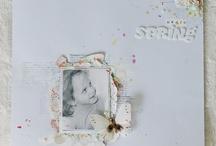 scrapbook white
