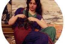 античные женщины