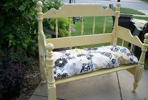 Benches from Beds