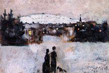 Inverno nell'arte