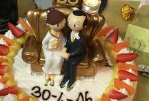 Nozze d'oro - 50 anniversario / Idee creative e personalizzazioni 50mo anniversario matrimonio