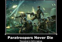 paratrooper life
