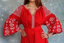 Вишиванки и украинские костюми и наряды