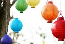Jemma + Ianne / Rainbow motiff (red,orange,yellow,blue,green,indigo,violet) Theme: vibrant and festive / by Veronica Valente-Vicuna