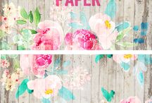 printables / Papers, prints, colors, dots, stripes... One click away to find FREE printables