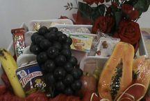 Kasu Presentes (Artesanatos) / Arranojos, Artesanatos, cestas de café da manhã