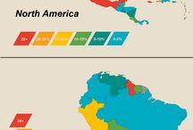 Maps, Statistics & Infographics
