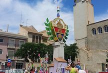 Fiestas San Juan, barrio del Raval. Elx/Elche