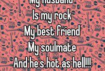 Husband's me