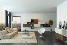 Witte huiskamer / Huiskamer