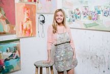 Artists in their workspaces / artists and their art studios