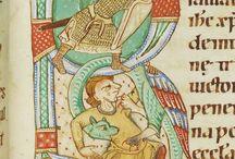 średniowieczne miniatury